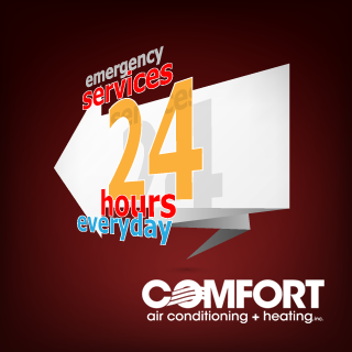 24 hour air conditioning and heating emergency service